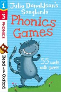 Read with Oxford: Stages 1-3: Julia Donaldson's Songbirds: Phonics Games Flashcards af Julia Donaldson