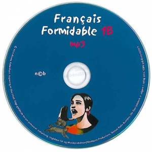 Français Formidable 1B, Elev-cd med mp3-filer af Leon Aktor
